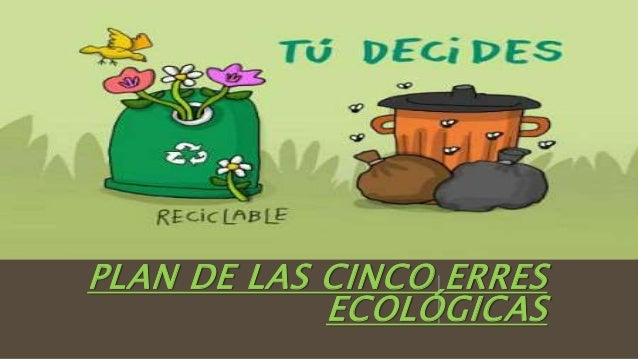 PLAN DE LAS CINCO ERRES ECOLÓGICAS