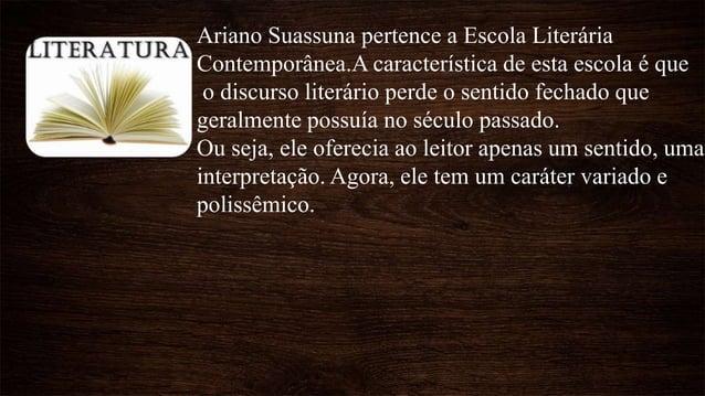 Auto da Compadecida é a principal peça de Ariano Suassuna, foi escrita em 1955. Sua primeira encenação foi em 1956, em Rec...