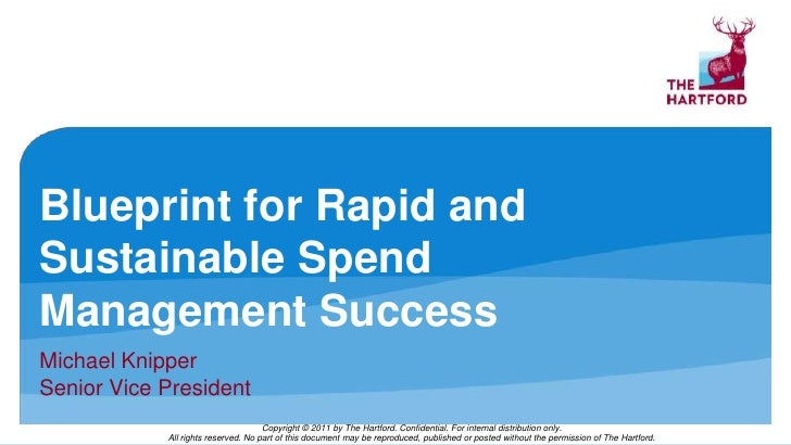 The hartfords michael knipper on blueprint for rapid and sustainable blueprint for rapid and sustainable spend management successbr michael knipper br malvernweather Gallery