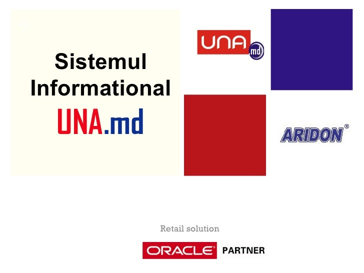 +   SistemulInformational    UNA.md             Retail solution