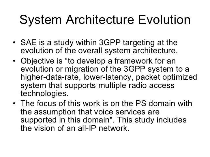 Simplified LTE network elements and interfaces 3GPP TS 36.300 Figure 4: Overall Architecture eNB =  E-UTRAN Node B All rad...
