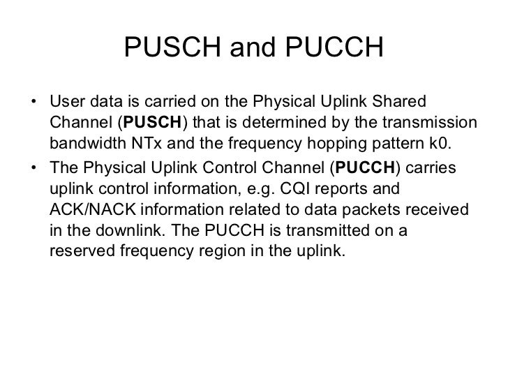 DL Physical Channel Processing