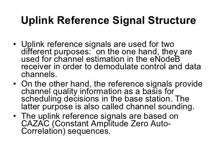 LTE frame structure type 1 (FDD), downlink