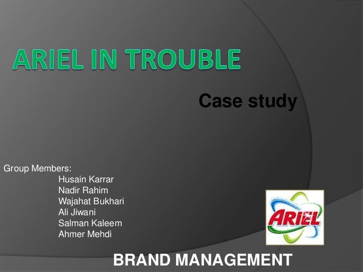 Case studyGroup Members:          Husain Karrar          Nadir Rahim          Wajahat Bukhari          Ali Jiwani         ...