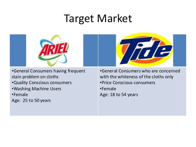 weakness of tide detergent Quarterly sales at p&g, maker of tide detergent, declined 9%  several analysts  voiced frustration over the company's weak performance.