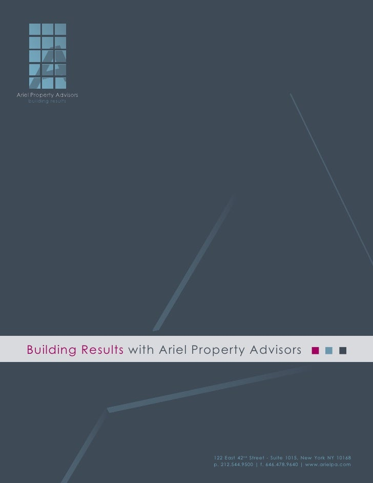 Ariel Property AdvisorsAriel Property Advisors    building results    building results   Building Results with Ariel Prope...