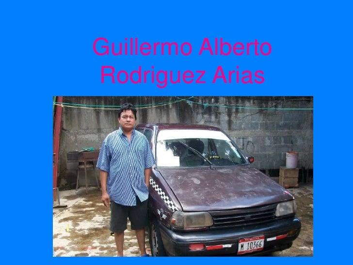 Guillermo Alberto Rodriguez Arias<br />