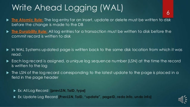 Write-Behind Logging