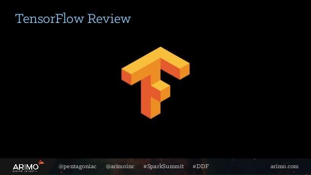 @pentagoniac @arimoinc #SparkSummit #DDF arimo.com TensorFlow Review