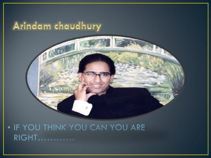 Arindam chaudhary