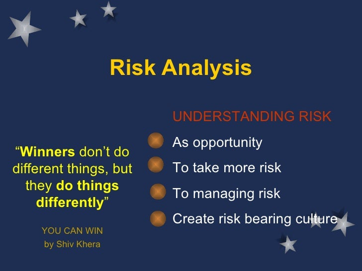 A risk anylysis & planning