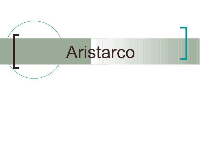 Aristarco