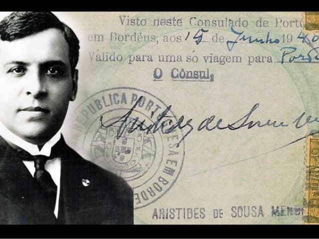 Resultado de imagem para judeus portugal salazar refugiados aristides