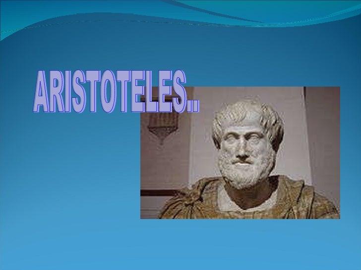 ARISTOTELES..
