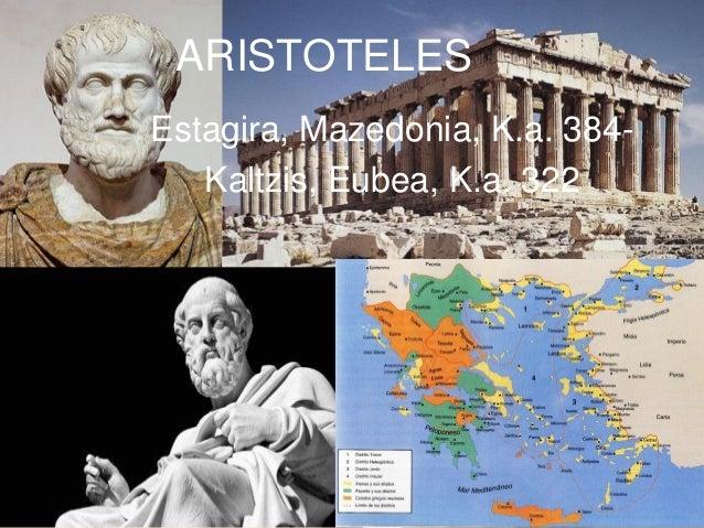 Estagira, Mazedonia, K.a. 384- Kaltzis, Eubea, K.a. 322 ARISTOTELES
