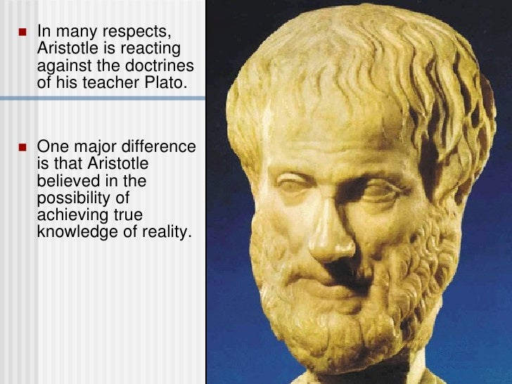 Aristotle and his numerous