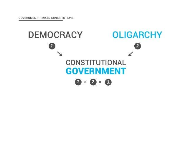 aristotles politics oligarchy and democracy Aristotle and xenophon on democracy aristotle and xenophon on democracy and oligarchy aristotle political science / political ideologies / democracy.