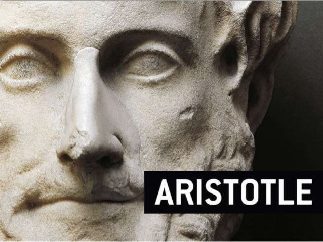 • One of the greatest ancient greek philosophers in the history of western science and philosophy • The first to classify ...