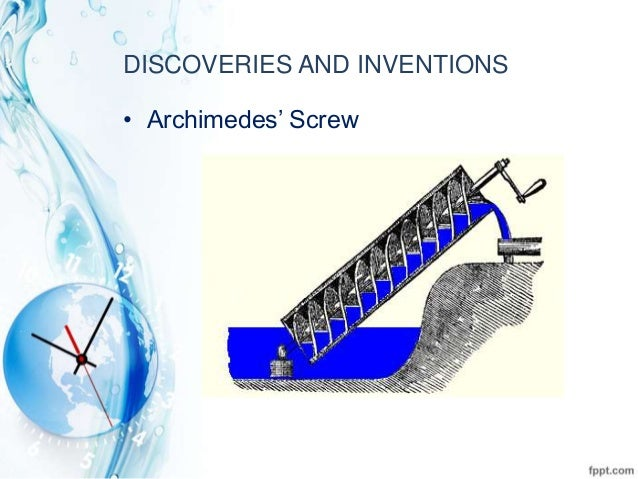 The life and accomplishments of archimedes