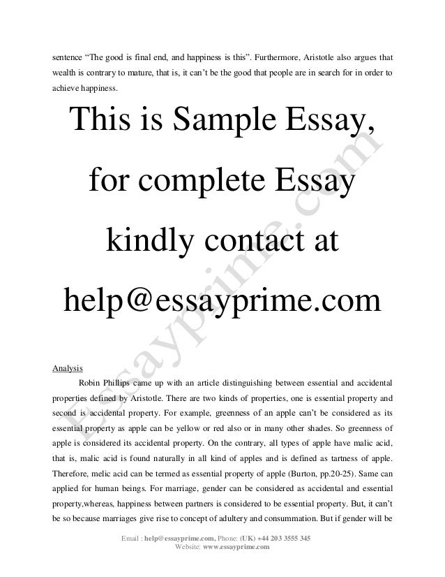 Gay Marriage Argument Essay Outline – 699911