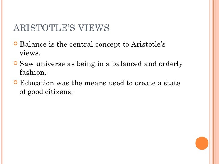 a discussion on anselms views on the aristotelian doctrine of the will Excerpt from g stanley kane, anselm's doctrine of the freedom of the will   namely, to unify under a single concept the two major ideas of freedom in the.