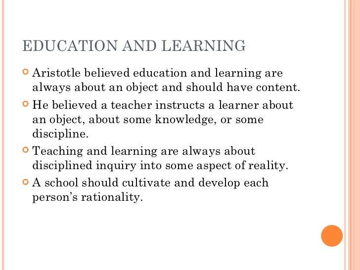 aristotle public education