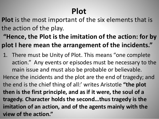 aristotle and the concept of tragedy Aristotle's concept of plot is entirely based and dependent upon his concept of tragedy the reason being, his concept of plot is a constituent of his concept over.