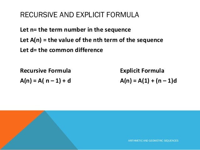Arithmetic and geometric_sequences