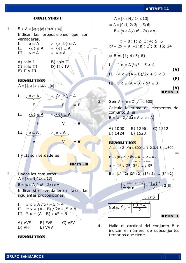 Aritmetica san marco