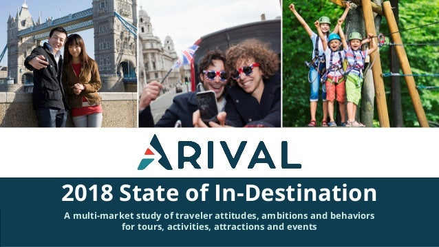 2018 State of In-Destination A multi-market study of traveler attitudes, ambitions and behaviors for tours, activities, at...