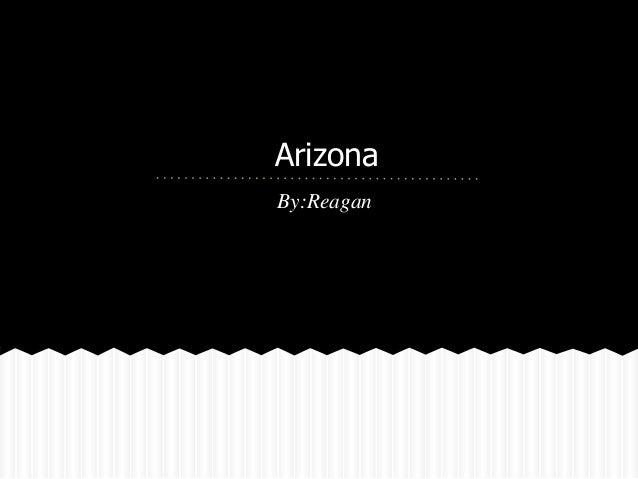 ArizonaBy:Reagan