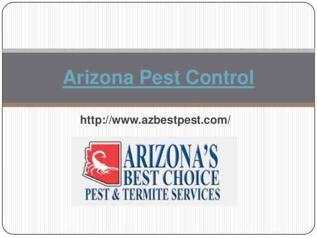 Arizona Pest Control http://www.azbestpest.com/