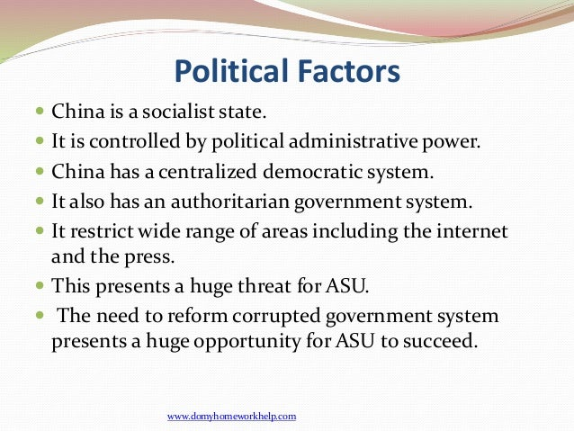 The influence of political factors to airbus