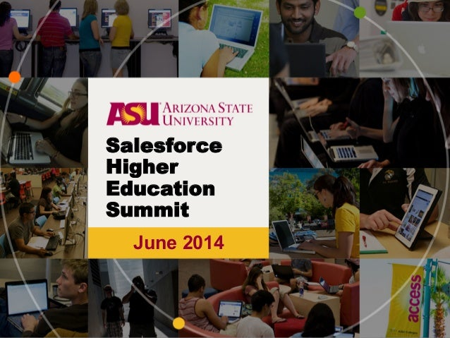June 2014 Salesforce Higher Education Summit