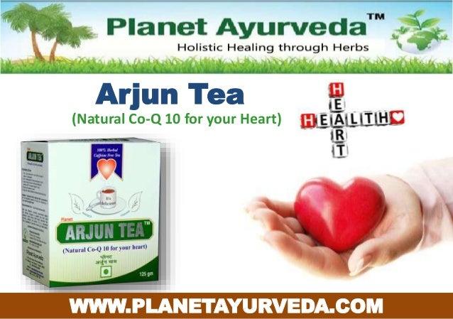 Arjun Tea (Natural Co-Q 10 for your Heart) WWW.PLANETAYURVEDA.COM