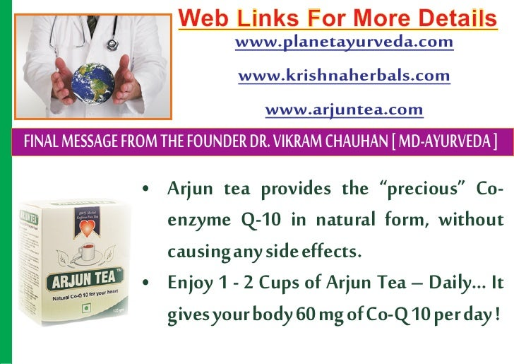 how to prepare arjun tea