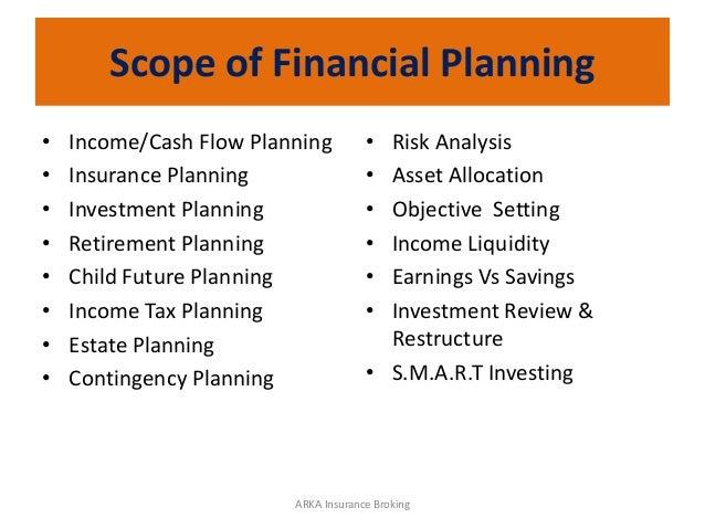 Arka financial planning
