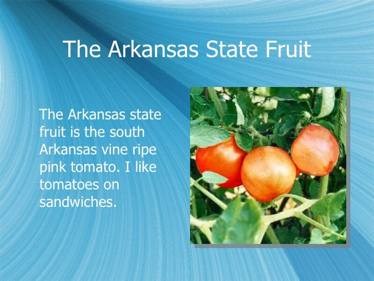 Arkansas State Fruit