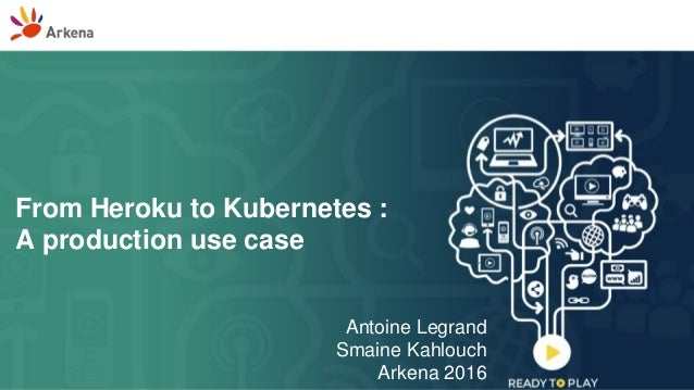 From Heroku to Kubernetes : A production use case Antoine Legrand Smaine Kahlouch Arkena 2016
