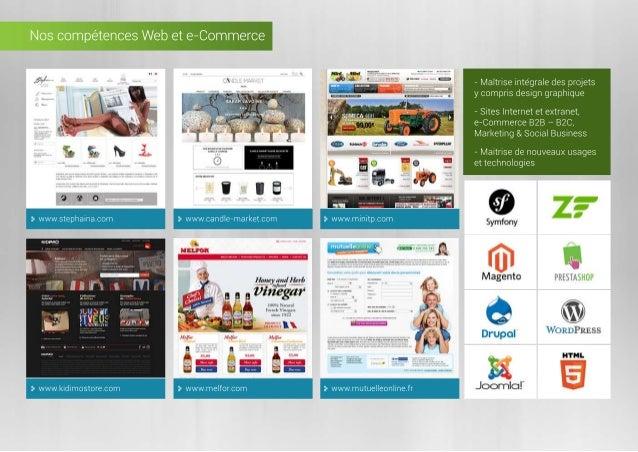 NoscompétencesWebete-Commerce www.stephaina.com www.candle-market.com www.minitp.com www.kidimostore.com www.melfor.com ww...