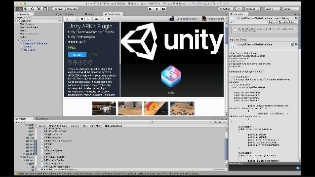 UnityARSessionNativeInterface.cs でNativeの関数をラップ