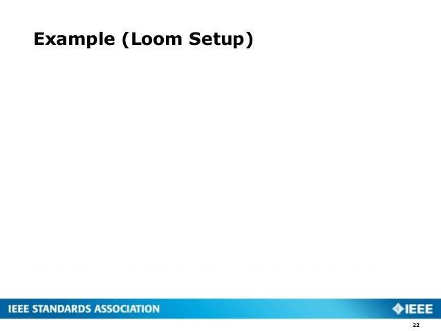 Example (Loom Setup) 22