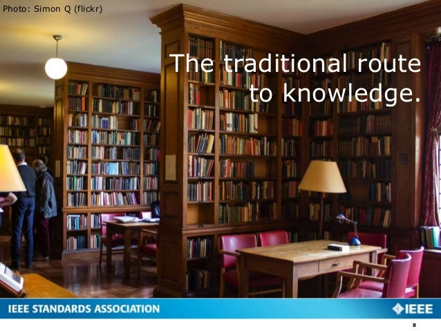 The traditional route to knowledge. Photo: Simon Q (flickr) 8