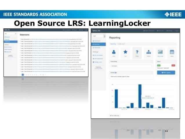 Open Source LRS: LearningLocker 11