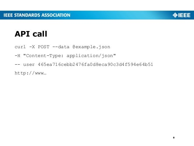 "curl -X POST --data @example.json -H ""Content-Type: application/json"" -- user 465ea716cebb2476fa0d8eca90c3d4f594e64b51 htt..."