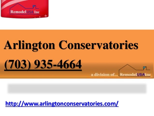 http://www.arlingtonconservatories.com/ Arlington Conservatories (703) 935-4664