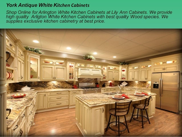 Arlington White Kitchen Cabinets; 2.