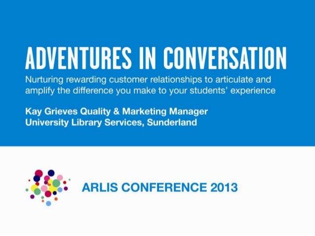 Kay Grieves: Adventures in Conversation