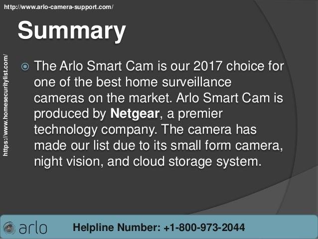Arlo camera review and rating