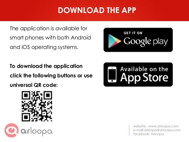 Arloopa make your business card alive 3 download the app colourmoves Choice Image